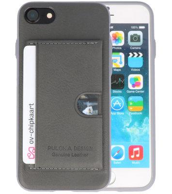 Grijs Hardcase cover Hoesje voor Apple iPhone 7 / 8