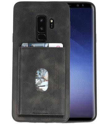 Donker Grijs Hardcase cover Hoesje voor Samsung Galaxy S9 Plus