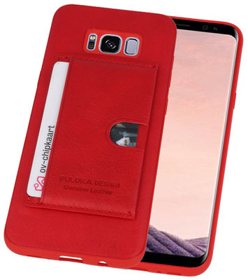 Rood Hardcase cover Hoesje voor Samsung Galaxy S8 Plus