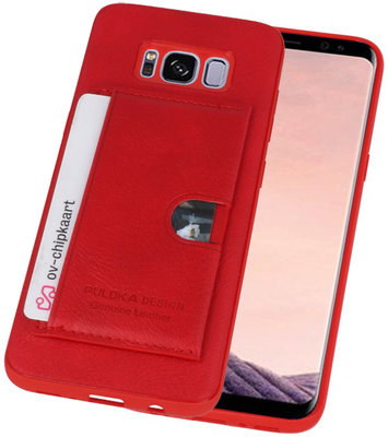 Rood Hardcase cover Hoesje voor Samsung Galaxy S8