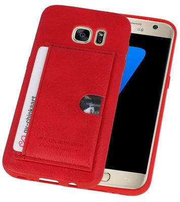 Rood Hardcase cover Hoesje voor Samsung Galaxy S7