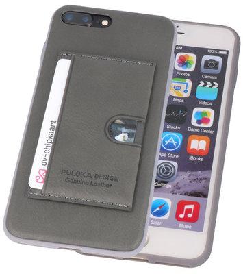 Grijs Hardcase cover Hoesje voor Apple iPhone 7 Plus / 8 Plus