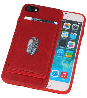 Rood Hardcase cover Hoesje voor Apple iPhone 7 / 8
