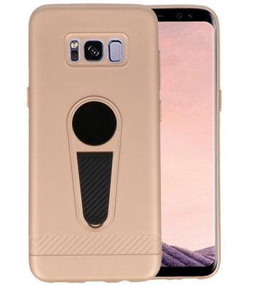 Goud Magneet Stand Case hoesje voor Samsung Galaxy S8 Plus