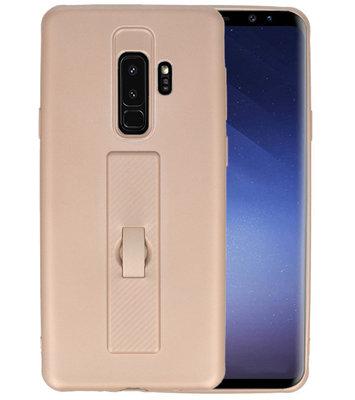 Goud Carbon serie Zacht Case hoesje voor Samsung Galaxy S8 Plus