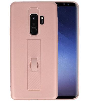 Roze Carbon serie Zacht Case hoesje voor Samsung Galaxy S8 Plus