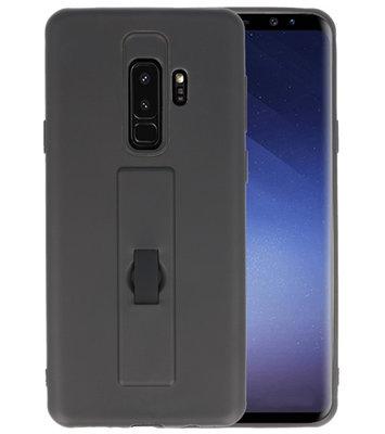 Zwart Carbon serie Zacht Case hoesje voor Samsung Galaxy S8 Plus