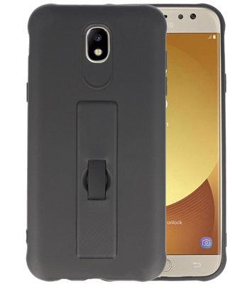 Zwart Carbon serie Zacht Case hoesje voor Samsung Galaxy J5 2017