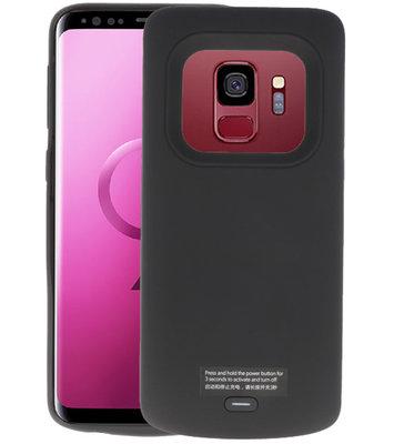 Zwart smart batterij Hoesje voor Samsung Galaxy S9