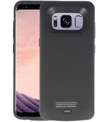 Zwart smart batterij Hoesje voor Samsung Galaxy S8