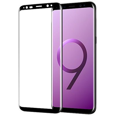 Zwart Samsung Galaxy S9 Tempered Glass Screen Protector