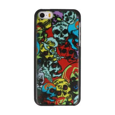 Schedel Hard case cover hoesje voor Apple iPhone 5C