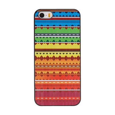Regenboog Hard case cover hoesje voor Apple iPhone 5/5s/SE