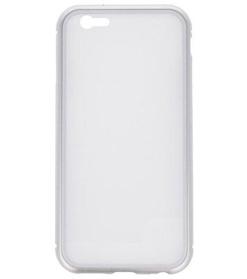 Wit Magnetisch Back Cover Hoesje voor Apple iPhone 6 / 6s