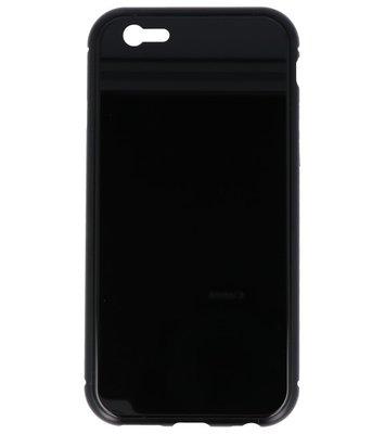Zwart Magnetisch Back Cover Hoesje voor Apple iPhone 6 / 6s