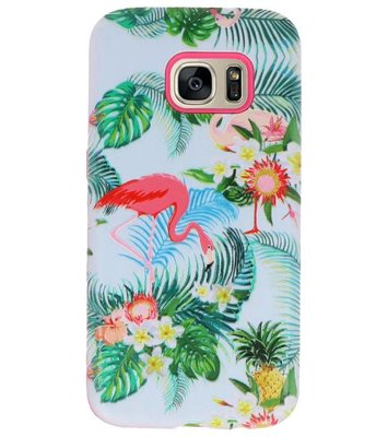 Flamingo 3D Print Hard Case voor Samsung Galaxy S7