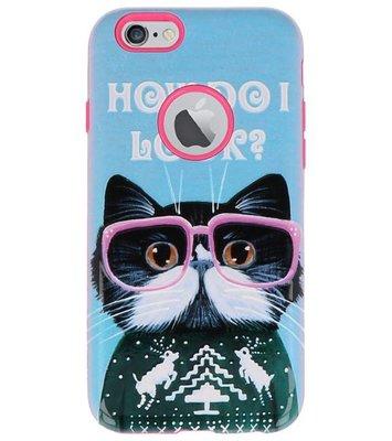 I Look 3D Print Hard Case voor Apple iPhone 6 / 6s