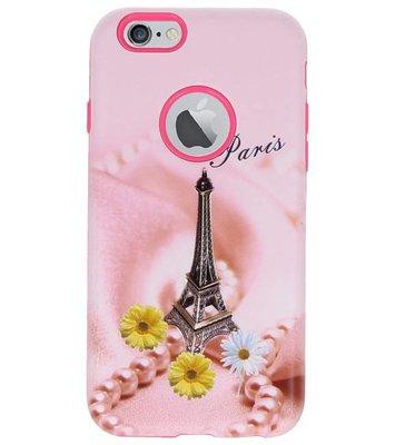 Paris 3D Print Hard Case voor Apple iPhone 6 / 6s