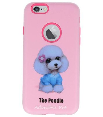 The Poodle 3D Print Hard Case voor Apple iPhone 6 / 6s
