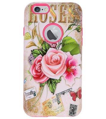 Roses 3D Print Hard Case voor Apple iPhone 6 / 6s