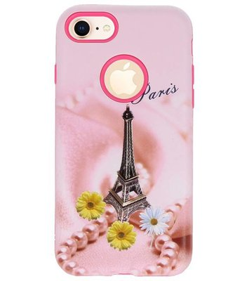 Paris 3D Print Hard Case voor Apple iPhone 7 / 8