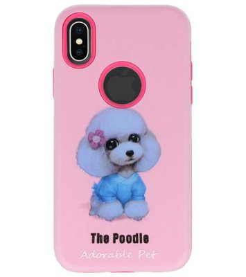 The Poodle 3D Print Hard Case voor Apple iPhone X
