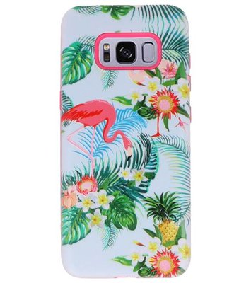 Flamingo 3D Print Hard Case voor Samsung Galaxy S8
