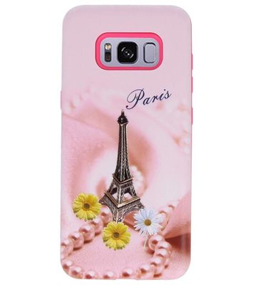 Paris 3D Print Hard Case voor Samsung Galaxy S8