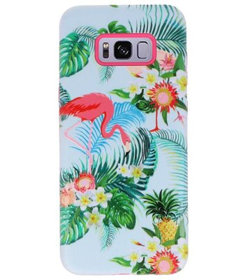 Flamingo 3D Print Hard Case voor Samsung Galaxy S8 Plus