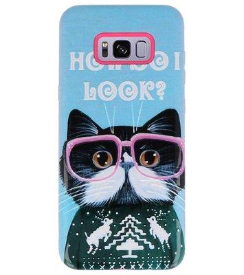 I Look 3D Print Hard Case voor Samsung Galaxy S8 Plus