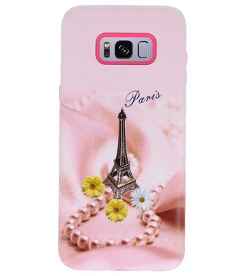 Paris 3D Print Hard Case voor Samsung Galaxy S8 Plus