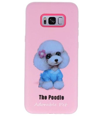 The Poodle 3D Print Hard Case voor Samsung Galaxy S8 Plus