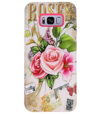 Roses 3D Print Hard Case voor Samsung Galaxy S8 Plus