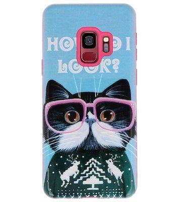 I Look 3D Print Hard Case voor Samsung Galaxy S9
