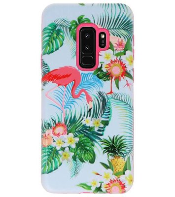 Flamingo 3D Print Hard Case voor Samsung Galaxy S9 Plus