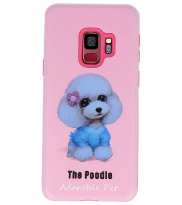 The Poodle 3D Print Hard Case voor Samsung Galaxy S9