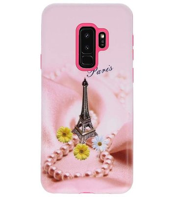 Paris 3D Print Hard Case voor Samsung Galaxy S9 Plus