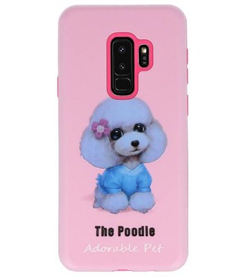 The Poodle 3D Print Hard Case voor Samsung Galaxy S9 Plus