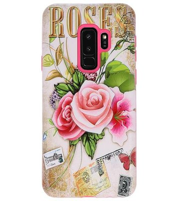Roses 3D Print Hard Case voor Samsung Galaxy S9 Plus