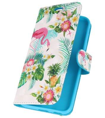Flamingo Bookstyle Hoesje voor Samsung Galaxy J3 2017