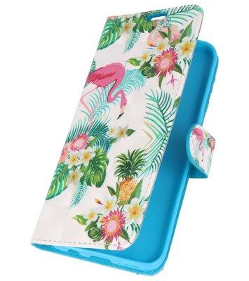 Flamingo Bookstyle Hoesje voor Samsung Galaxy S8