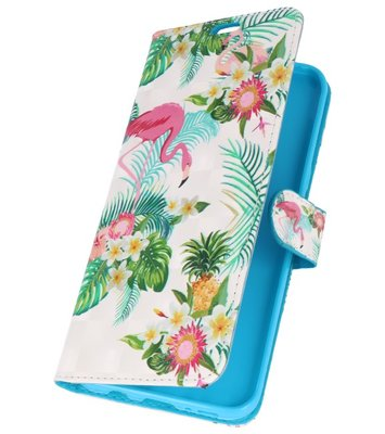 Flamingo Bookstyle Hoesje voor Samsung Galaxy S8 Plus