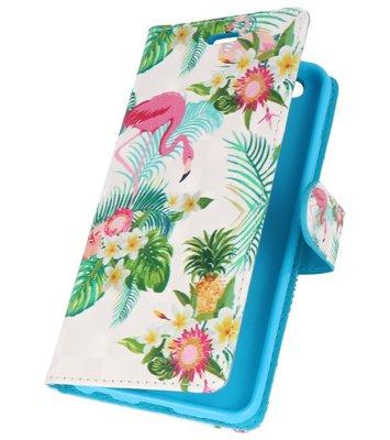 Flamingo Bookstyle Hoesje voor Huawei P10