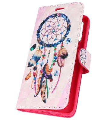 Dromenvanger Bookstyle Hoesje voor Huawei P20