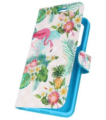 Flamingo Bookstyle Hoesje voor Huawei P20
