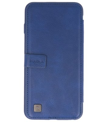 Blauw Back Cover Book Design Hoesje voor Apple iPhone 6 Plus / 6s Plus