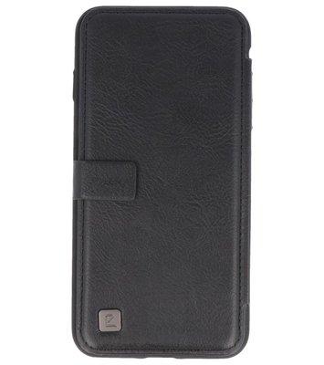 Zwart Back Cover Book Design Hoesje voor Apple iPhone 7 Plus / 8 Plus