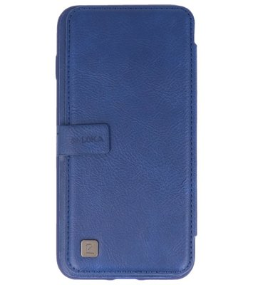 Blauw Back Cover Book Design Hoesje voor Apple iPhone 7 Plus / 8 Plus