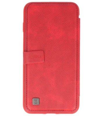Rood Back Cover Book Design Hoesje voor Apple iPhone 7 Plus / 8 Plus