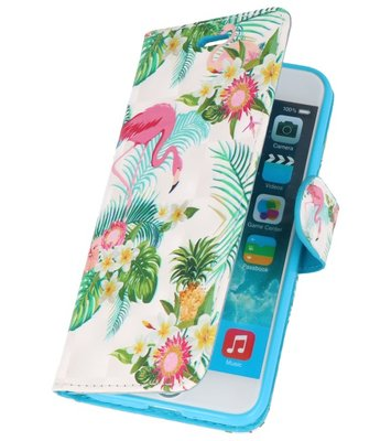 Flamingo Bookstyle Hoesje voor iPhone 7 / 8